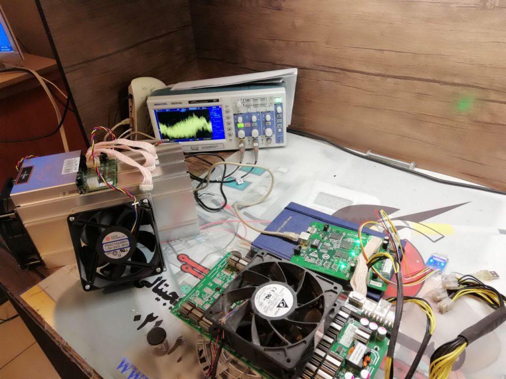 تعمیرات دستگاه ماینر